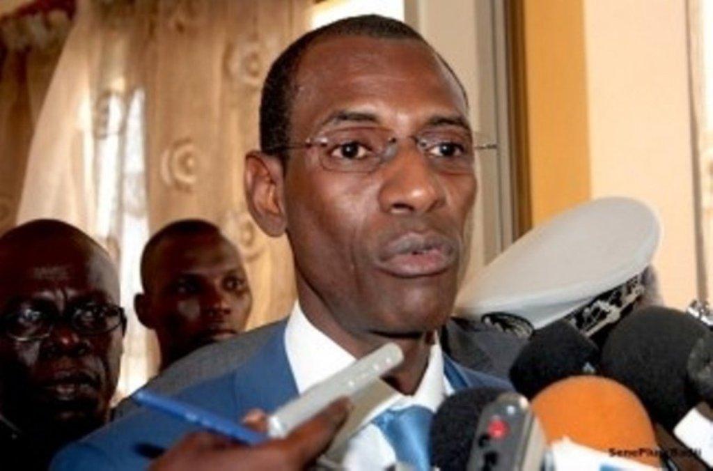 Abdoulaye Daouda Diallo : « Le Sénégal n'est pas l'abri du terrorisme»