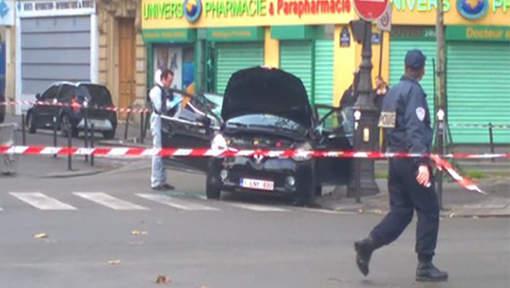 Une voiture suspecte immatriculée en Belgique retrouvée à Paris