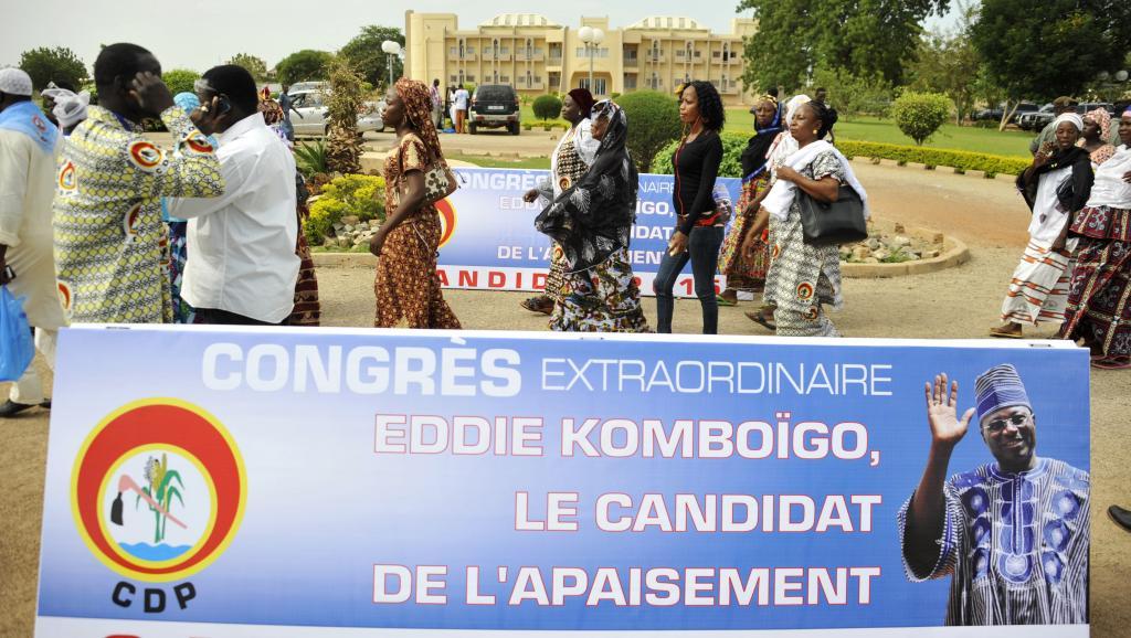 Elections au Burkina: le CDP se voit en «faiseur de roi»