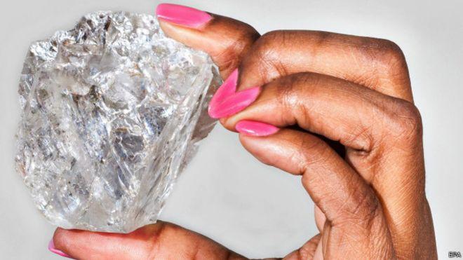 """Un diamant d'une """"pureté exceptionnelle"""""""