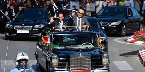 Mohammed VI reçu par François Hollande après l'aide du Maroc pour trouver Abaaoud