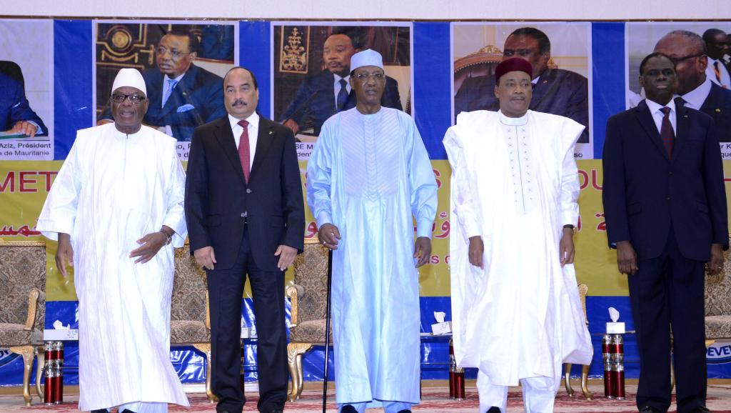 Terrorisme: le G5 Sahel annonce la création d'une force conjointe