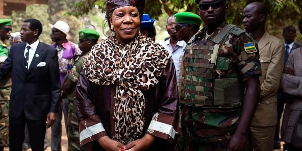 Centrafrique : pour la sécurité de Catherine Samba-Panza, des Rwandais pour boucliers