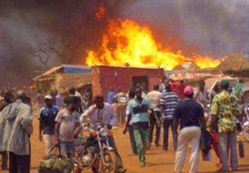 Fatick: le feu emporte 5 tonnes de mil et 2 tonnes d'arachide