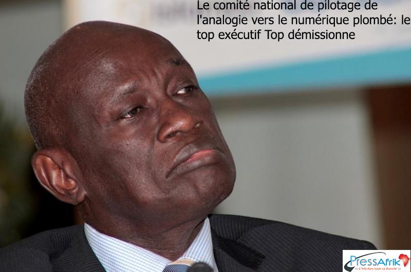 Le comité national de pilotage de l'analogie vers le numérique plombé: Top démissionne