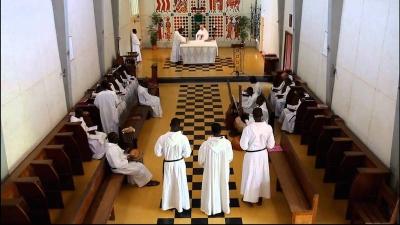 Les Religieux et Religieuses de Dakar et Thiès en pèlerinage auprès de la Vie Contemplative, le 6 décembre