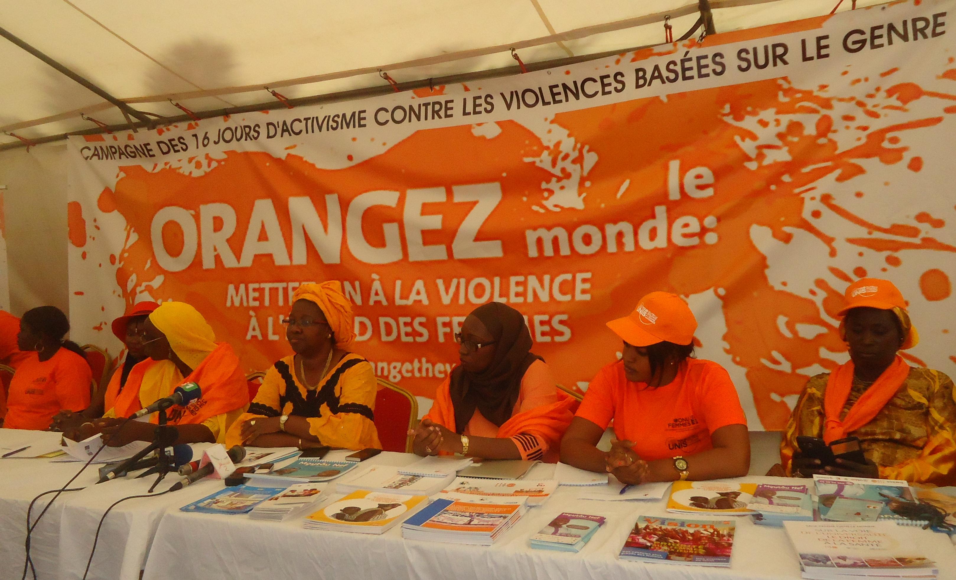 16 jours d'activisme contre la violence : les femmes sonnent l'alerte