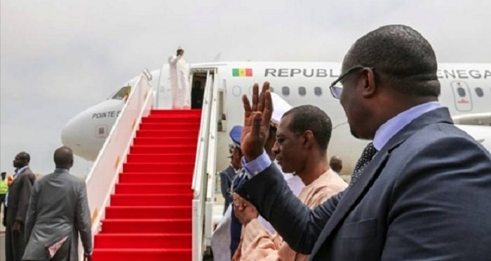 Cop21: le Président Macky Sall a quitté Dakar pour Paris