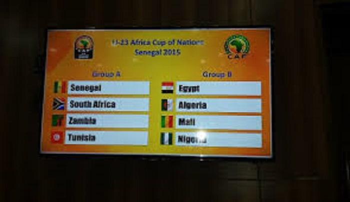 CAN U23 Sénégal 2015: résultats et classements de la 1ère journée