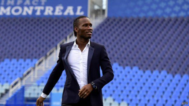"Didier Drogba : "" mon engagement"""