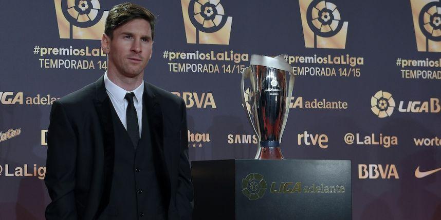 Liga : Lionel Messi élu meilleur joueur de la saison 2014-2015