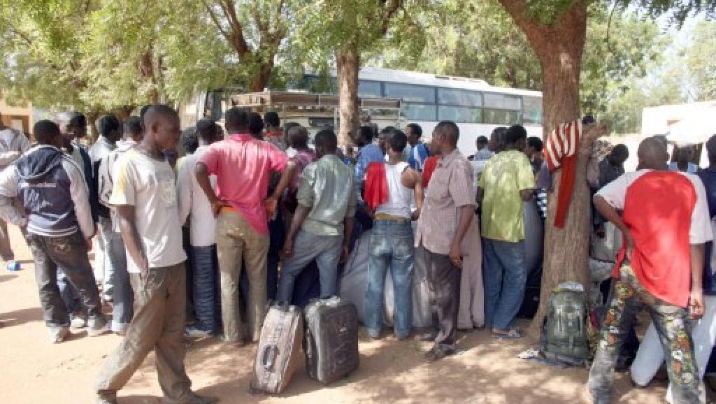 Plus d'une centaine de migrants maliens rapatriés de Libye