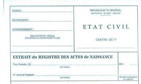Trafic de pièces d'état civil à Louga: la police de l'Air et les renseignements veillent