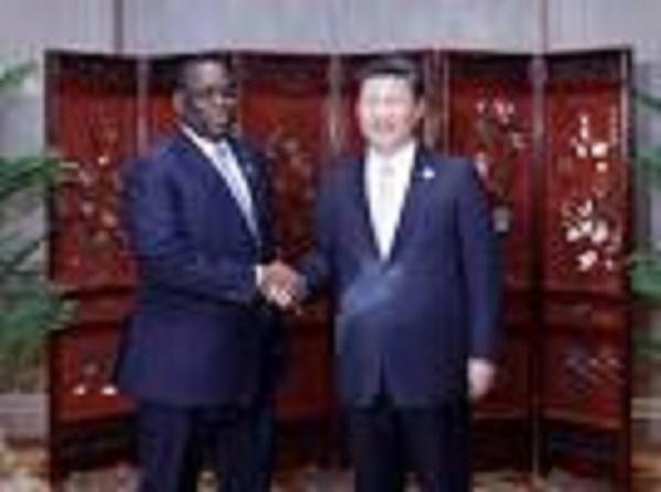"""""""Le temps de la Chine et de l'Afrique est arrivé"""", (président Sall)"""