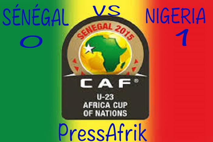 CAN U23 1/2: Eliminé (1-0) par le Nigéria, le Sénégal devra attendre pour les JO