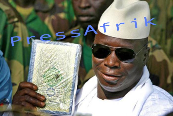 Exclusif Etat islamique en Gambie: Yayah Jammeh passe à la vitesse supérieure.