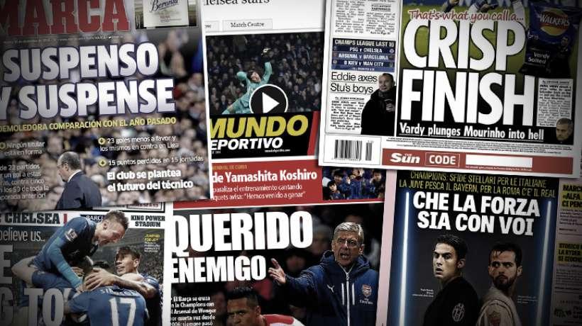 Mourinho trahi par ses joueurs, Benitez placé en première ligne