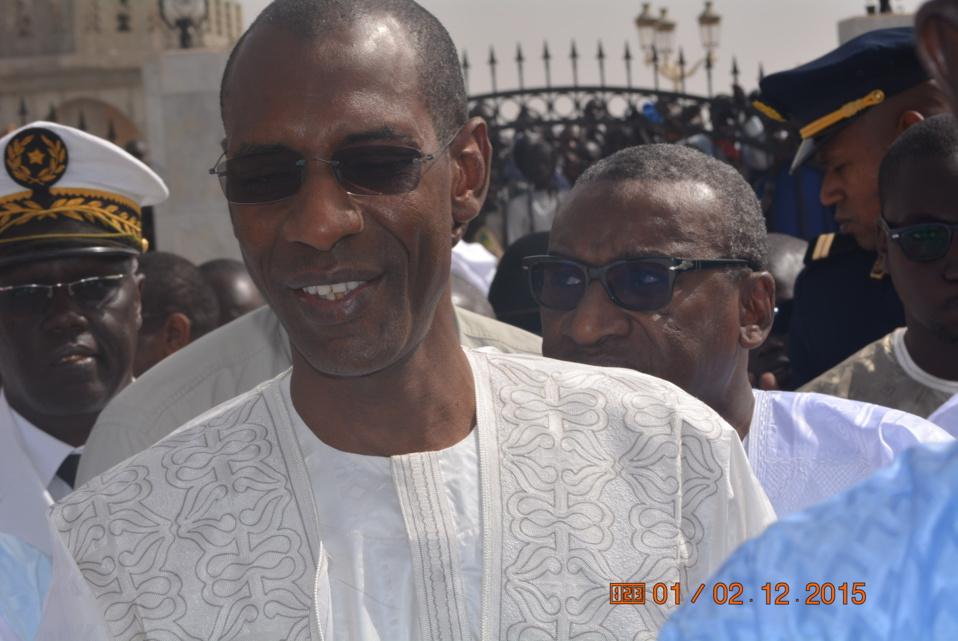 Préparation du Gamou de Tivaouane : Abdoulaye Daouda Diallo satisfait des travaux.
