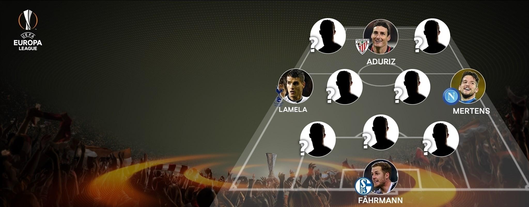 L'UEFA dévoile l'équipe type de la Ligue Europa