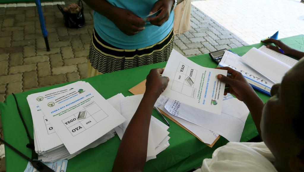 Rwanda: bonne participation à la mi-journée pour le référendum