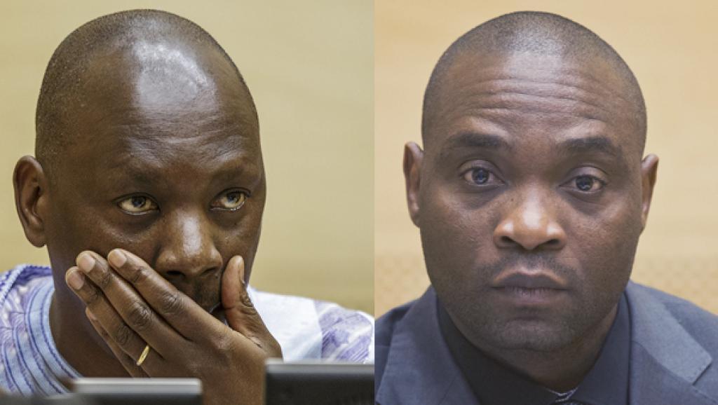 RDC: deux condamnés de la CPI de retour à Kinshasa