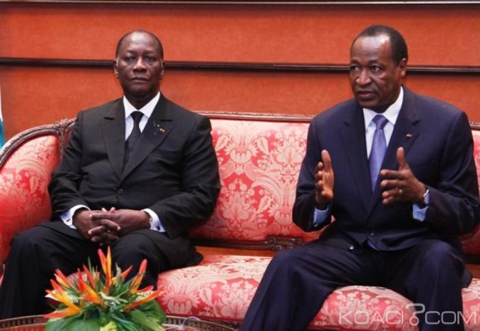 Côte d'Ivoire-Burkina Faso: Compaoré exhorte Abidjan de ne pas le livrer à son pays