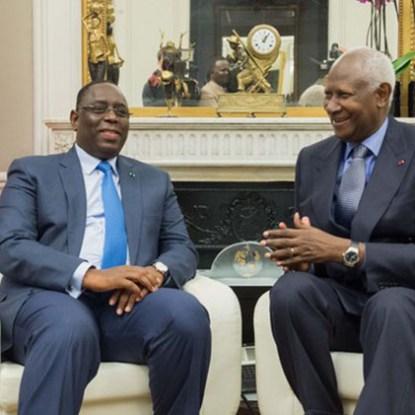 Quand Abdou Diouf tresse des lauriers à Macky: «Avec lui, je suis rassuré»