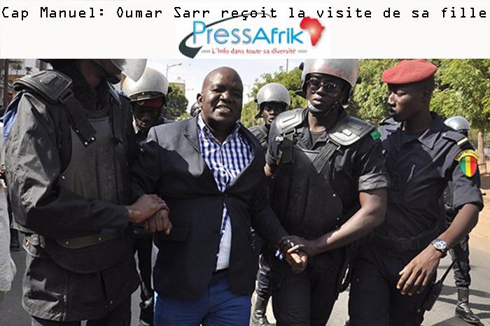 Cap Manuel: la fille d'Aminata Touré rend visite à son père, Oumar Sarr