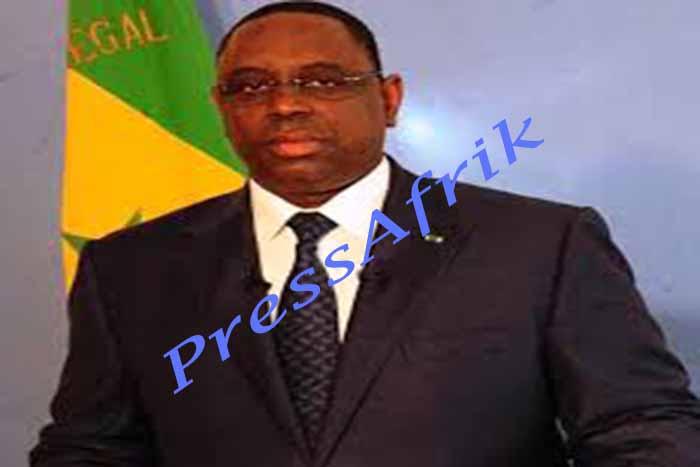 Message de nouvel an : «Les bonnes performances de notre économie se consolident », Macky Sall