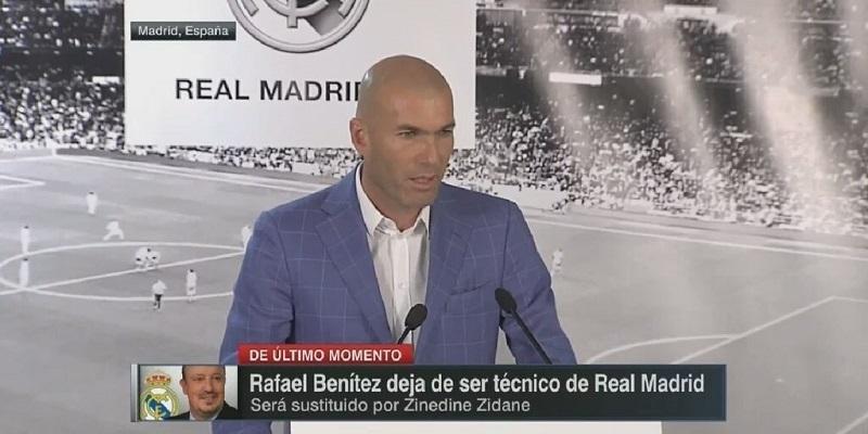 Real Madrid : «Je vais me donner à fond pour être avec mon équipe», Zidane