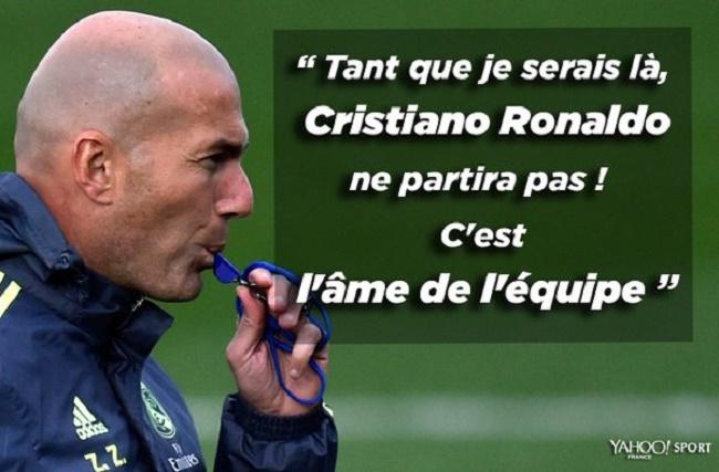 Les infos mercato: Zidane ferme la porte à un départ de Cristiano Ronaldo