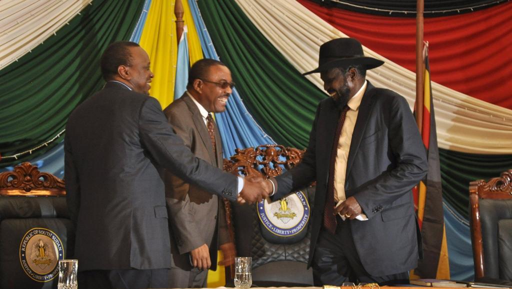Soudan du Sud: accord de gouvernement entre le pouvoir et la rébellion