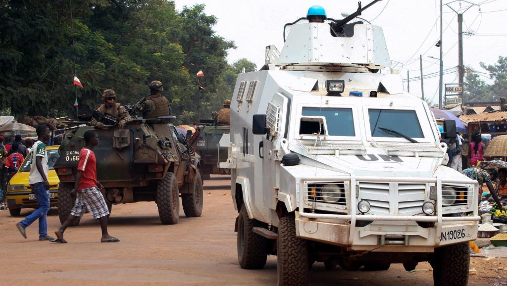 RCA: l'ONU retire les casques bleus de la RDC opérant en Centrafrique