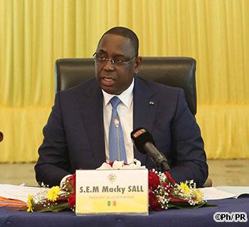 """UEMOA - présidence de la commission: """"Il y a eu un peu de tension sur ce sujet"""", président Macky Sall"""