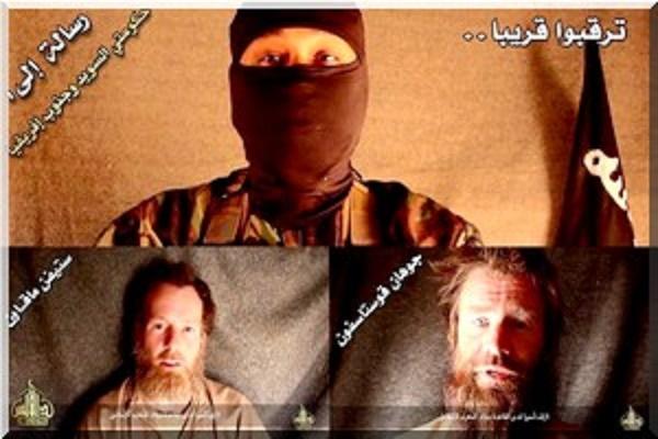 Aqmi diffuse une image des otages suédois et sud-africain