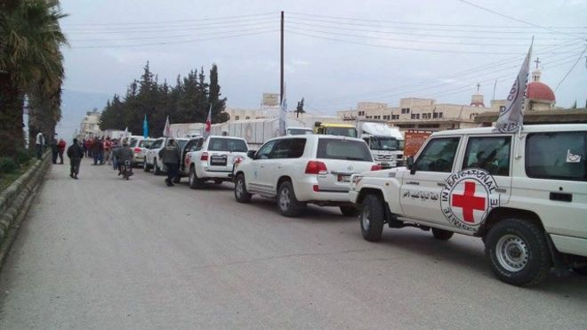 Syrie : l'aide arrive à Madaya