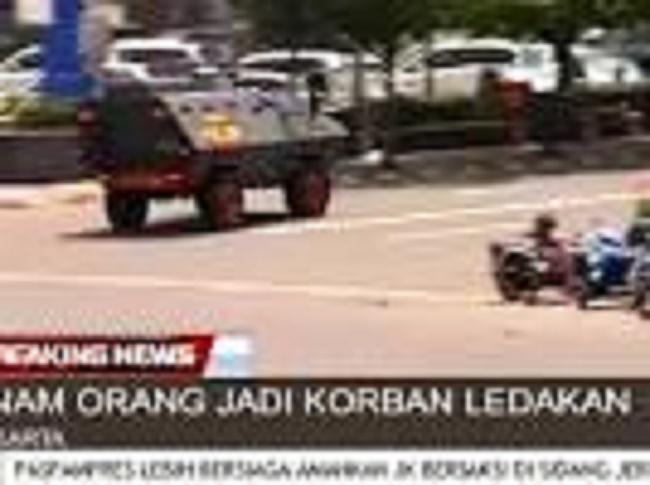Attaque terroriste en cours en Indonésie