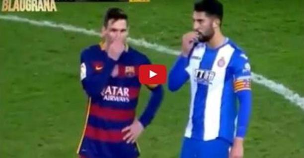 Moqué pour sa petite taille, Lionel Messi répond à son adversaire