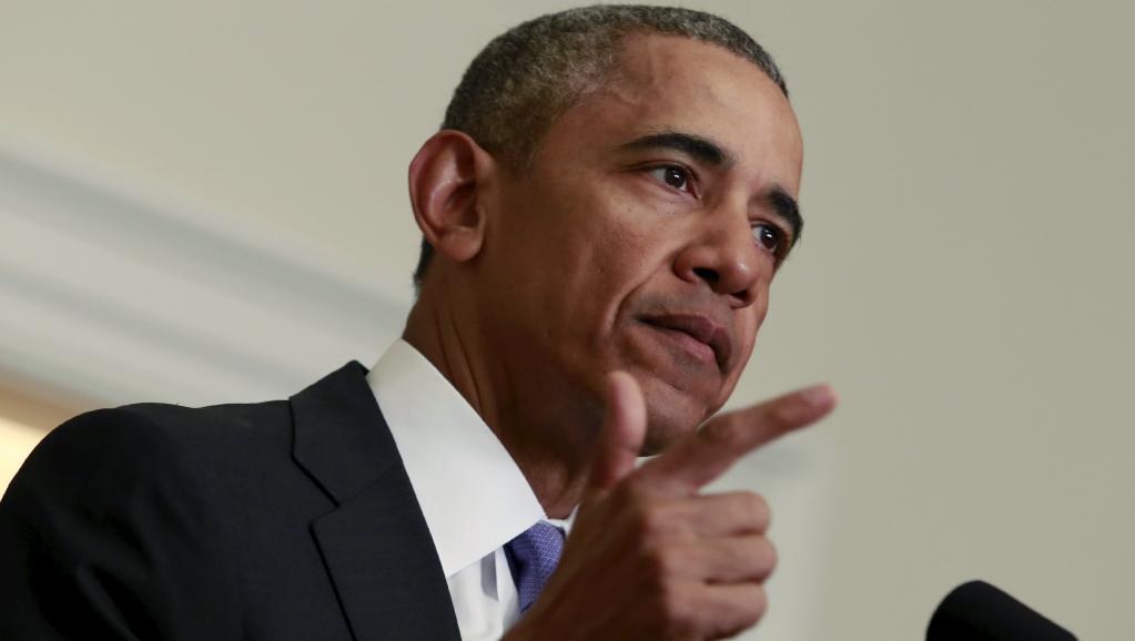 Le président Obama à la Maison Blanche, dimanche 17 janvier. REUTERS/Yuri Gripas