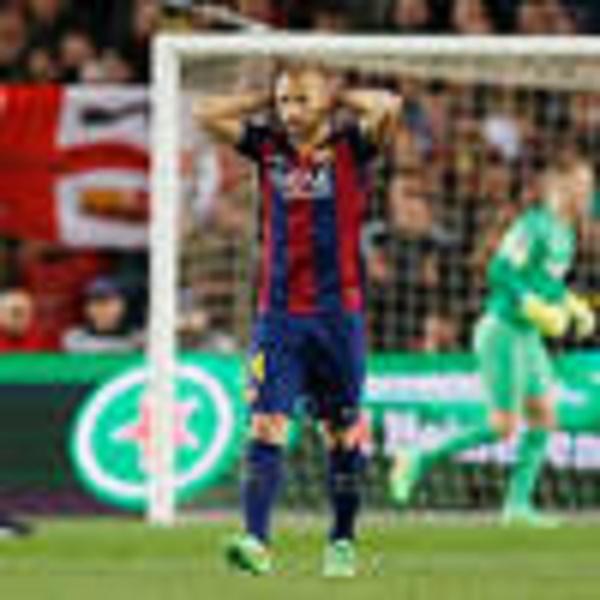 FC Barcelone : Javier Mascherano écope d'un an de prison