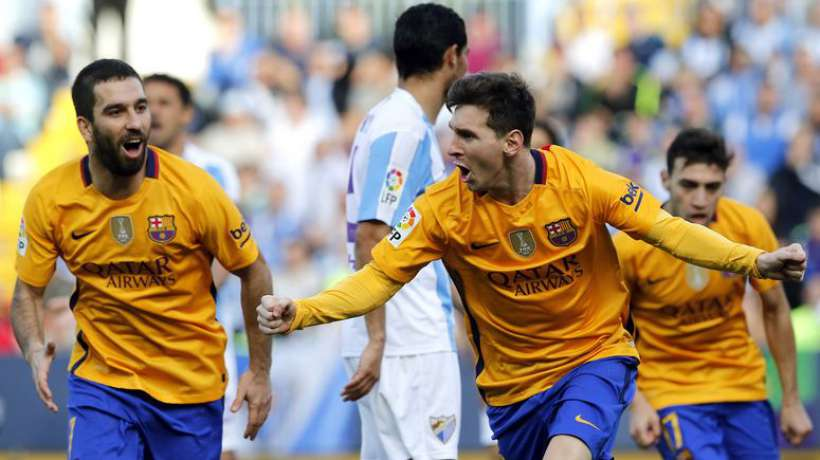 Liga: le Barça a tremblé à Malaga