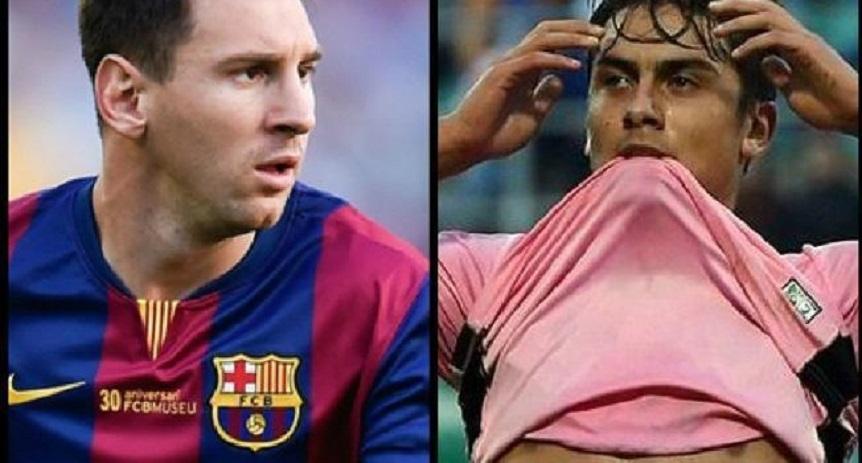 Juventus : Dybala « J'ai envie de jouer avec Messi»
