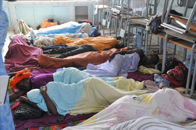FASTEF - Grève de la faim des sortants de la promo 2013 : 3 évacuations déjà