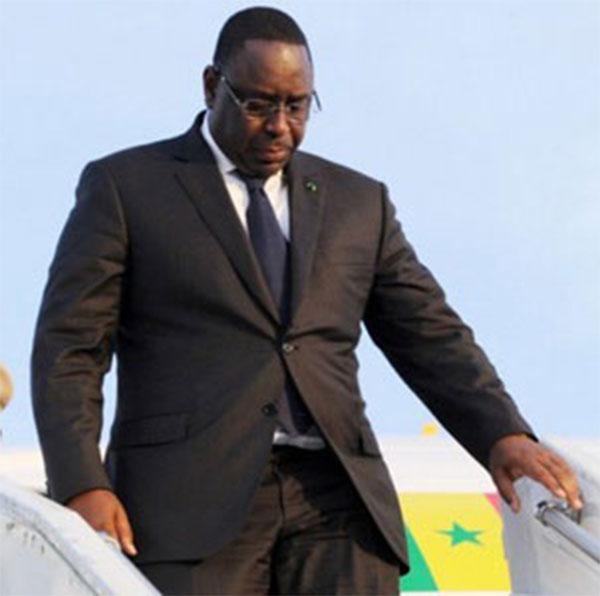 Sommet de l'Union Africaine-Macky Sall est arrivé à Addis-Abeba