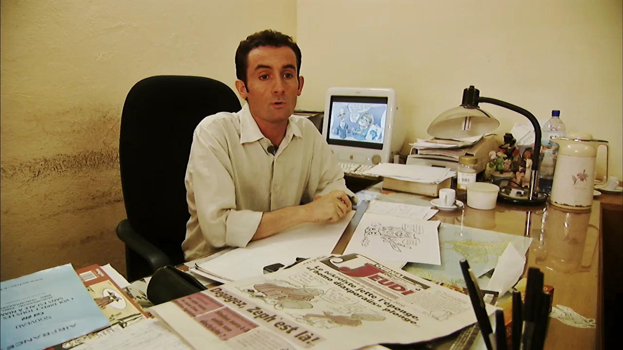 Qui est Damien Glez, le caricaturiste de Jeune Afrique?