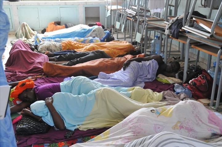Grève de la faim des professeurs sortant du Fastef: les évacuations se multiplient