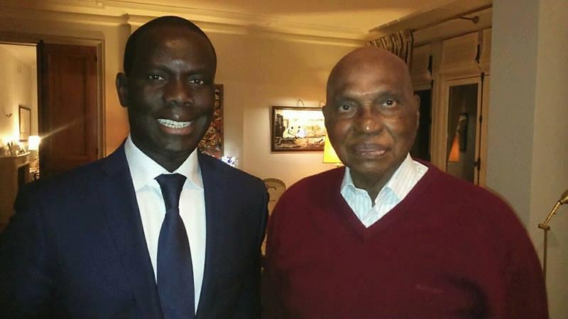 Malick Gackou rencontre Wade à Versailles