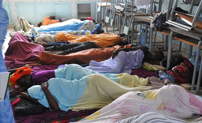 Grève de la faim des sortants de la Fasteef-deux femmes évacuées ce matin à l'hôpital