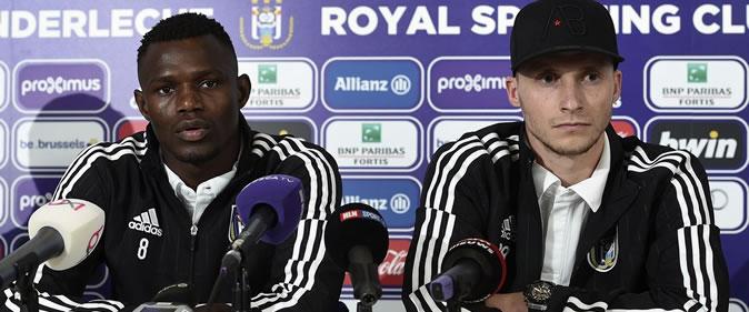 Stéphane Badji: «Kara et Kouyaté m'ont convaincu de venir à Anderlecht»