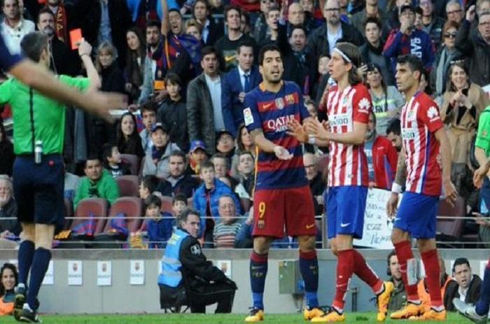 Atléico : 3 matches de suspension pour Felipe Luis